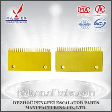 Direct manufacturers Schindler comb plate with plastic comb plate