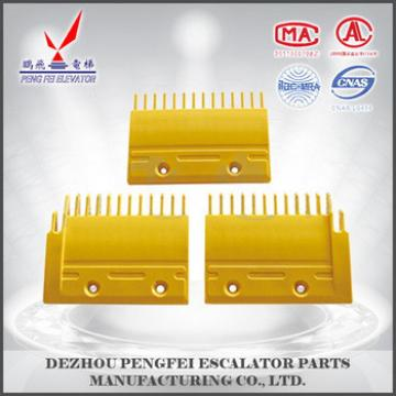 special comb plate for Mitsubishi yellow plastic comb plate /competive price