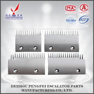 good quality comb plate for escalator comb Aluminum escalator parts