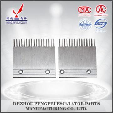 Hitachi comb plate -two models/aluminum comb plate for Hitachi escalator