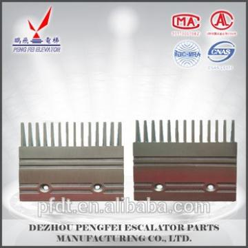 good quality comb plate for escalator Aluminum Mitsubishi comb plate