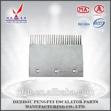 comb plate for escalator Aluminum escalator parts for Thyssen escalator