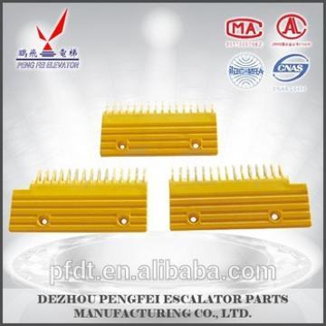 Elevator comb plate 15-teeth(R/L)16-teeth ( M ) with Modern escalator