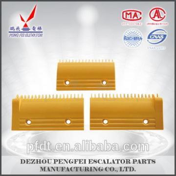 escalator component/elevator parts comb plate for Hitachi