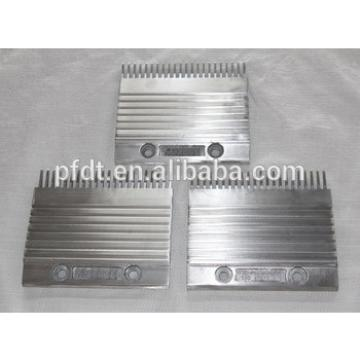 China suppliers KONE elevator price spare parts/Aluminum comb plate/22teeth