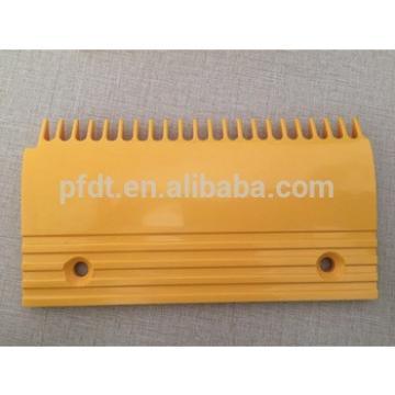 Kone elevator parts type yellow plastic comb plate 22teeth