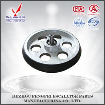 China supplier guide shoe round for Escalator /price of escalator square parts