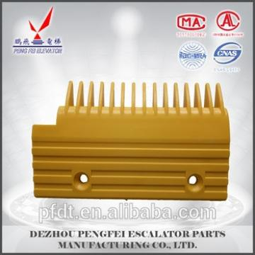 2017 best selling escalator plastic comb plate from china supplier