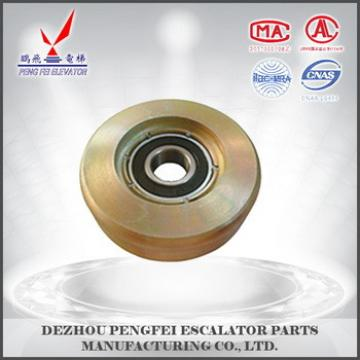 China supplier guide roller dritecting wheel /deflection sheave /good quality escalator square parts