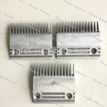 Dongyang eacalator 14teeth comb plate 114*117*87 type for sale