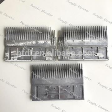 XIZIOTIS escalator Tooth reduction Aluminum comb plate for sale GAA453BM