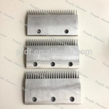Thyssenkrupp three types comb plate aluminum price list for sale