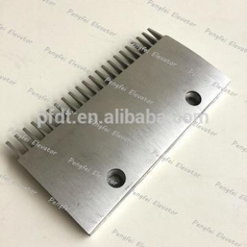 Thyssen escalator parts 22teeth aluminum comb plate for sale