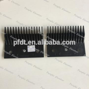 Black escalator plastic parts for 125*101*85mm size for Toshiba