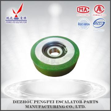 low cost elevator rollers wheels step roller for hyundai elevator