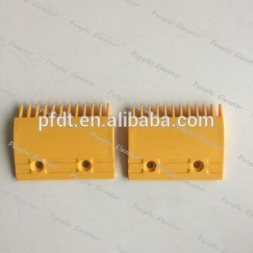 Fujitec brand escalator comb plate with 101x81x50(M) 105x81x50(R-L)