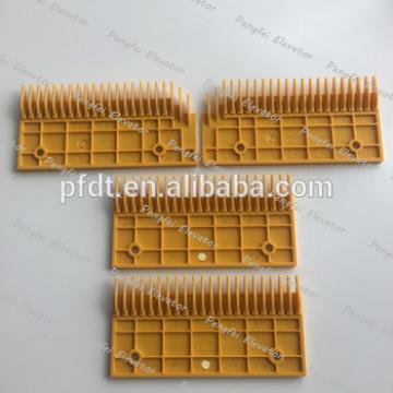 good grade escalator parts for comb plate with Fujitec