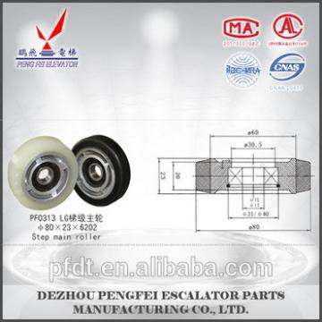 superior elevator parts for size80*23*6202 step main roller