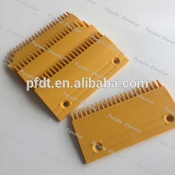 Fujitec 22teeth plastic comb plate with good quality for escalator parts