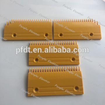 0129CAE001(L-R) Fujitec comb plate for escalator parts with 22 teeth