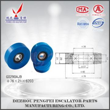 china supplier elevator rollers wheels step roller
