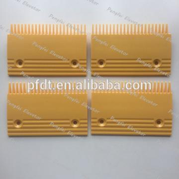 Hot sale KONE escalator comb plate 197x131x139(M) 201x131x139(L-R) from China