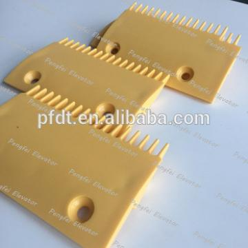 Sigma LG 17 teeth escalator plastic comb plate from China supplier
