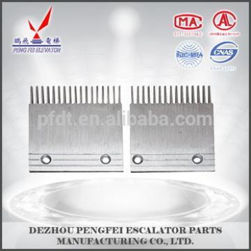 Hitachi escalator spare parts for sale aluminum comb plate 22501789