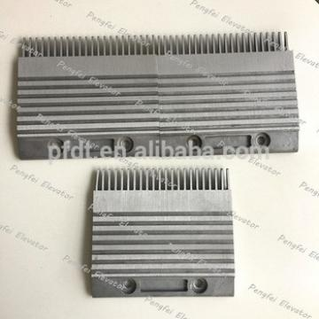 Kone aluminum comb plate for sale 22teeth escalator parts