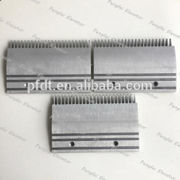 Special design escalator comb plate with 206*135*101