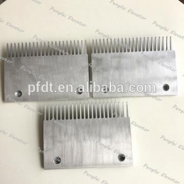 new professional escalator parts with comb plate of alloy aluminum
