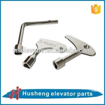The key for elevator landingdoor, elevator door lock
