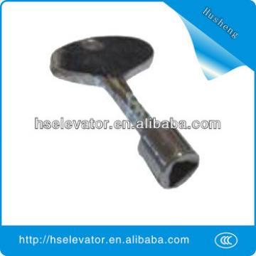 Elevator machinery parts, elevator door mechanical lock