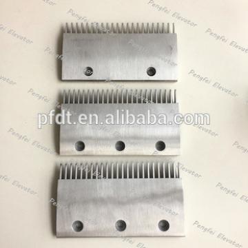 cheap original alloy aluminum of escalator comb plate for Thyssen