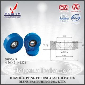 factory price for escalator parts blue chain wheels rollers