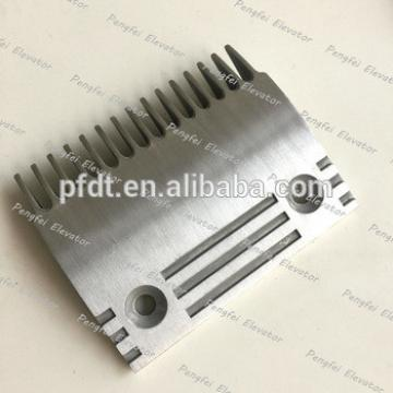High popularity alloy aluminun plate comb plate with Dongyang escalator