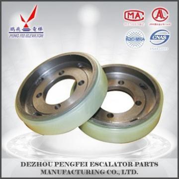 China suppliers hitachi wheels Hitachi driving wheel /driving rollers/escalator square parts