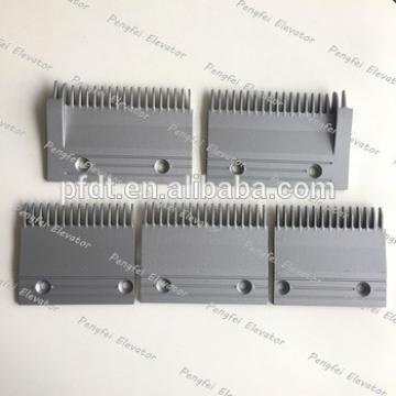 164*112*90 aluminum comb plate nice escalator spare parts for Hitachi