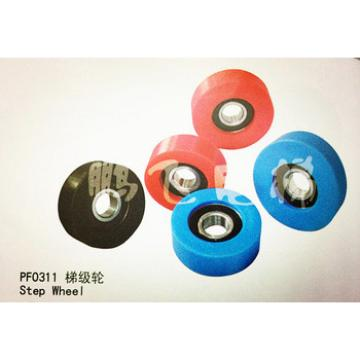 good quality steping wheel/factory price/escalator parts/blue step rollers