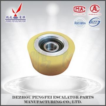 Modern step roller Hyundai supporting roller best price of escalator parts