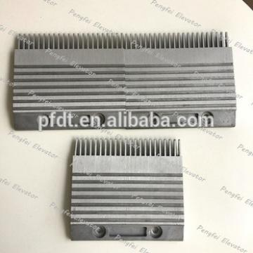 Big size for KONE elevator comb pate with alloy aluminum plate material