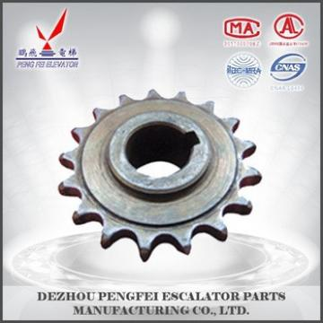 Single row 17-teeth drive sprocket factory product/low price/escalator parts
