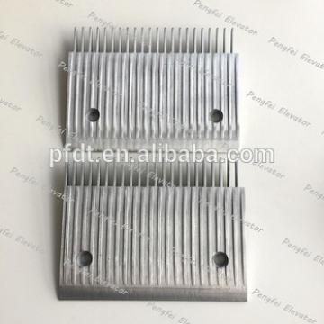 Schindler comb plate for sidewalk escalator components