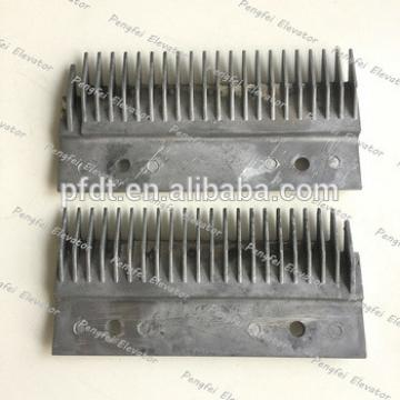 LG-Sigma escalator spare parts with lift and right comb plate