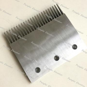 Thyssen comb plate for sale 24teeth sidewalk aluminum comb plate