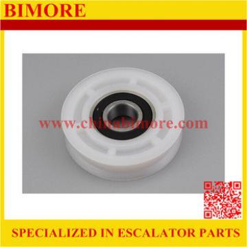 BIMORE Elevator hanging roller for landing & cabin doors 85mm, 85x20mm, bearing 6204, 85x20x6204