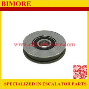 Elevator Landing Door Hanger Roller 84mm, 84x17.5mm, bearing 6204, 84x17.5x6204