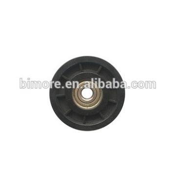 66x11x6200 BIMORE Lift steel wire rope roller for Mitsubishi