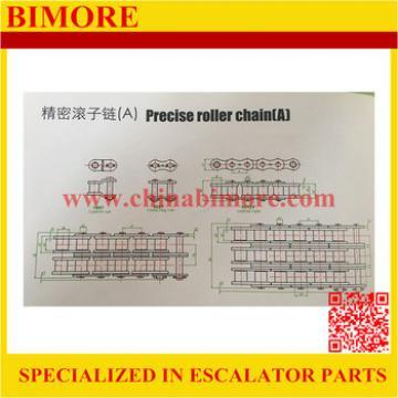 16A-1 Pitch=25.4mm, BIMORE Escalator precise roller chain, single row