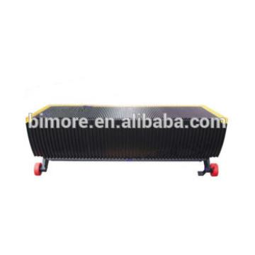 BIMORE 468547 Escalator step with 3 sides yellow demarcations for Schindler